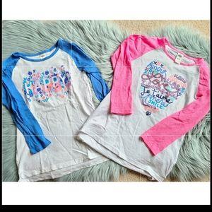 2 Carters Long Sleeve Shirts